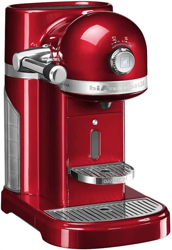 Kitchenaid Nespresso rood
