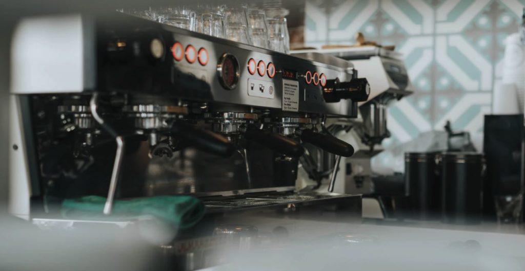 modern koffiezetapparaat